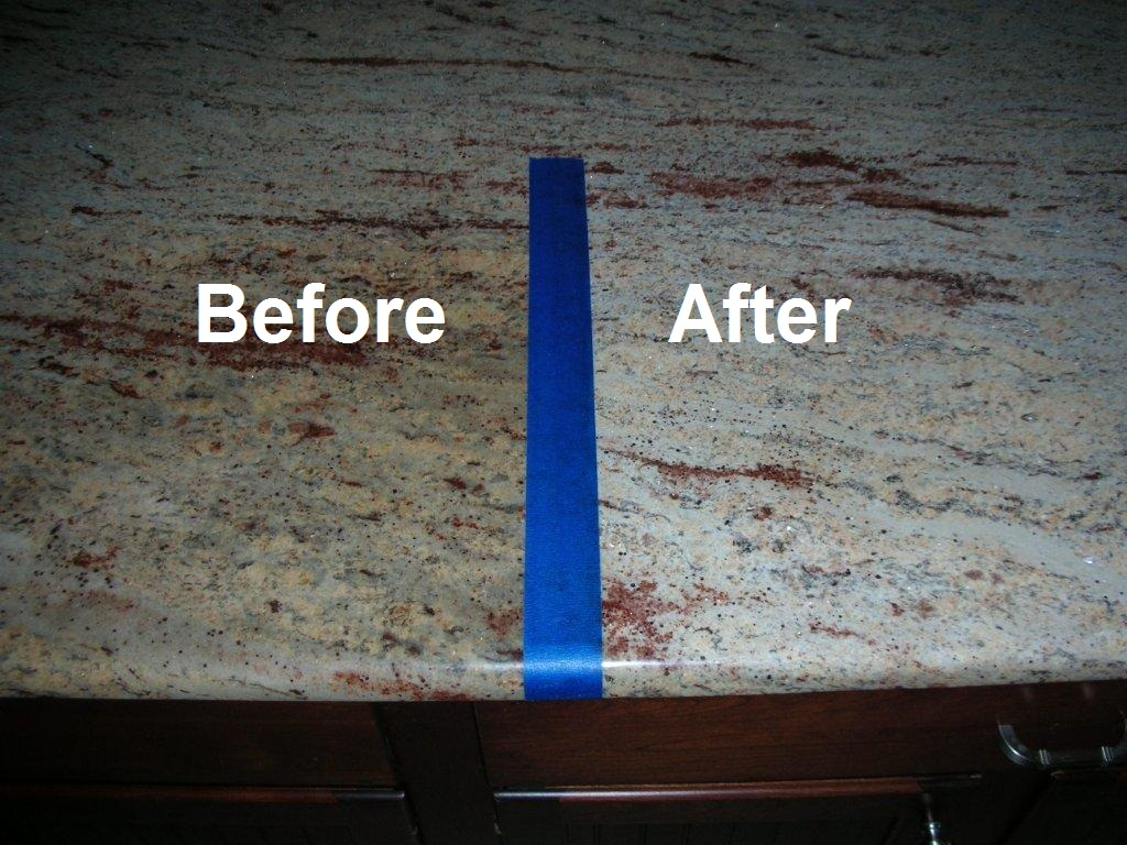 How to use granite stone remover products on granite kitchen tops