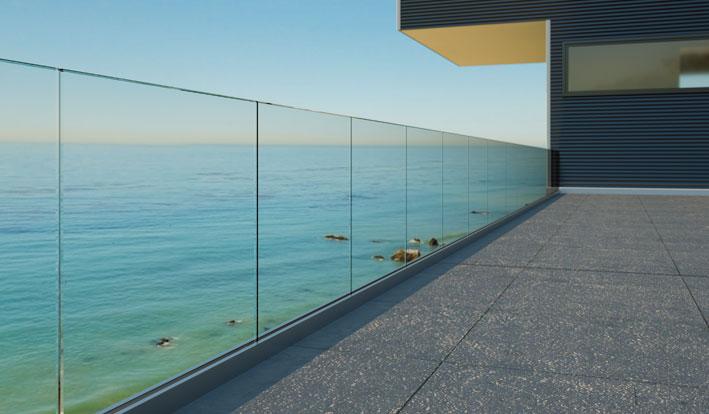 glass balustrade in Sydney