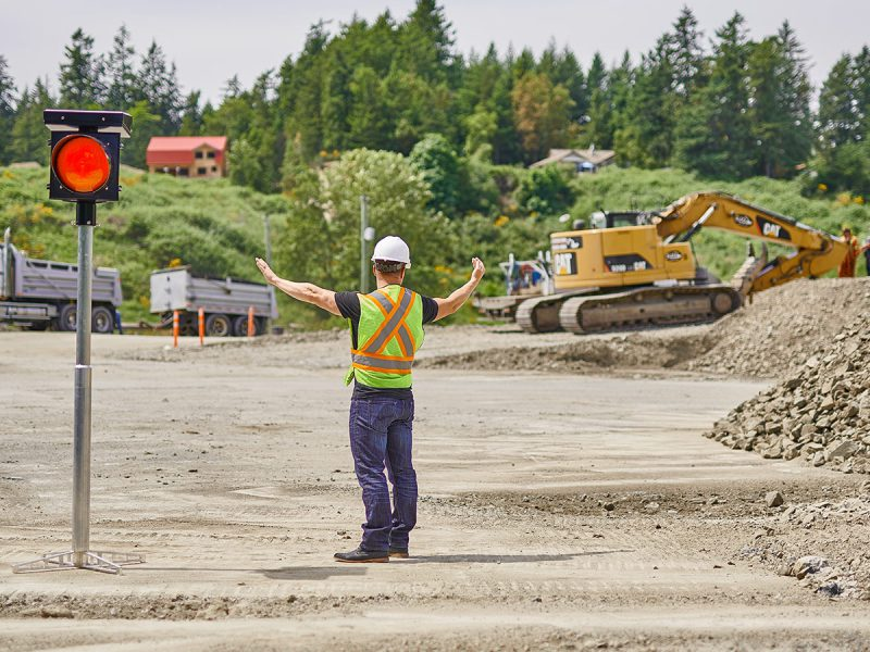 How to choose traffic control companies for construction sites?