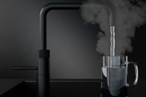 Concept of Commercial Instant Hot Water Tap