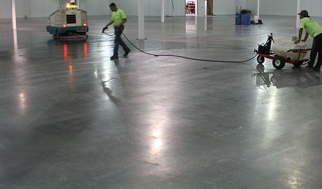 Advantages of using Concrete Densifiers and sealers