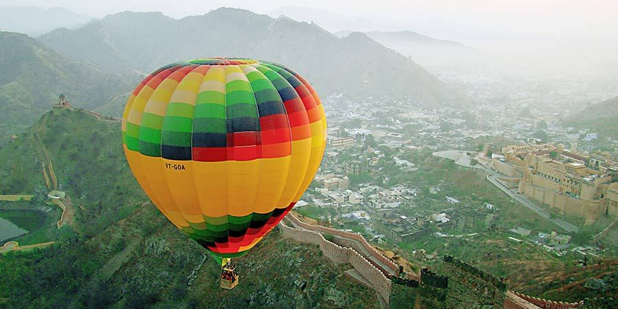 Hot Air Balloon in Rajasthan | All Information