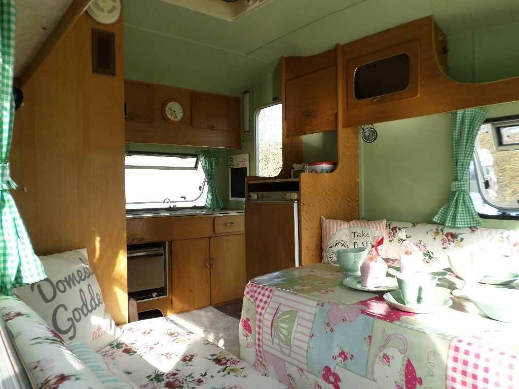Attractive look of caravans