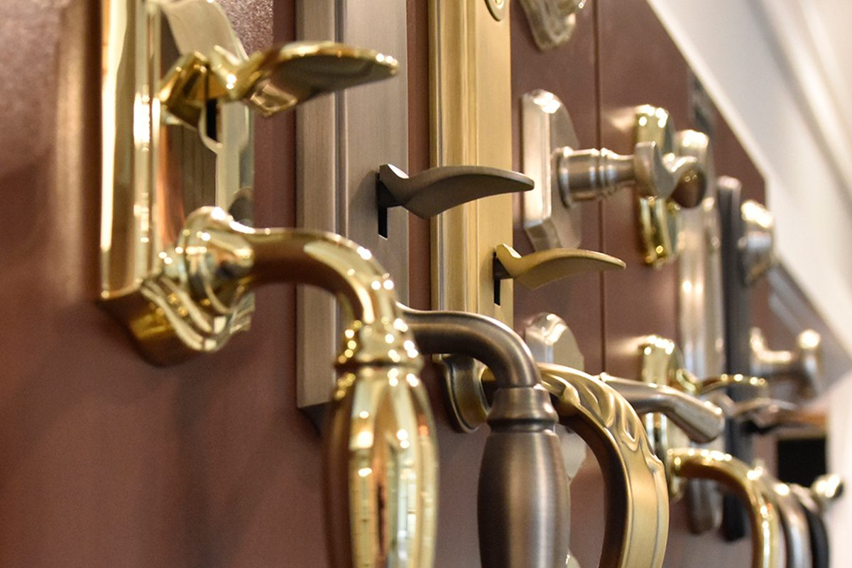 How to select the architectural hardware for your new home?