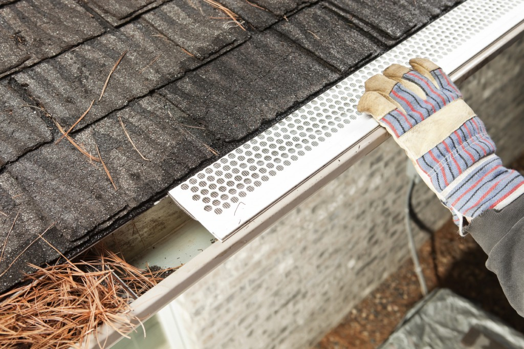 Check your gutters routinely to make sure that they are clean and remove any leaves or other debris.
