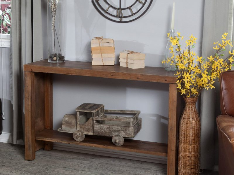 How Are Rustic Console Table Different Than Sofa Table?