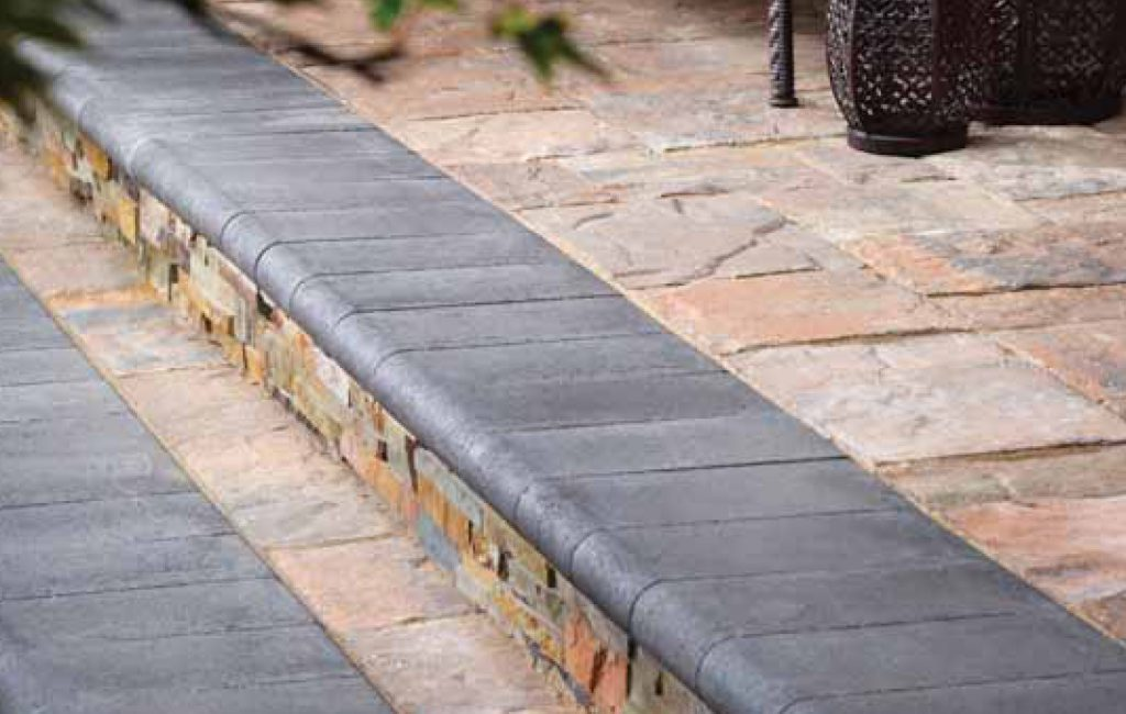 Bullnose coping has multiple advantages for safety. The way it hugs your foot because of its naturally porous shape is one of the most beneficial. This makes it safer and falls immune to walking. Even if natural stone is thick, the rounded edges make it smoother and safer.