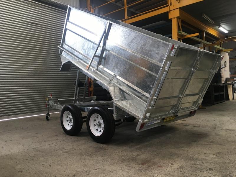 glavanised trailer in sydney