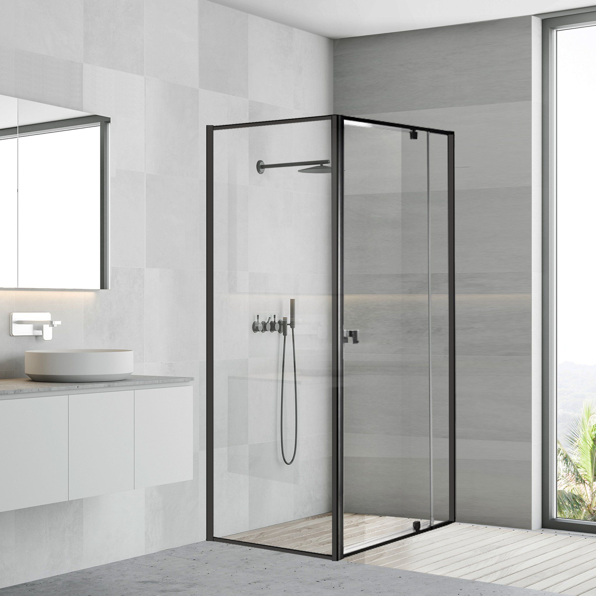 Improve The Aesthetic Appeal Of Your Bathroom With Custom Frameless Shower Screens