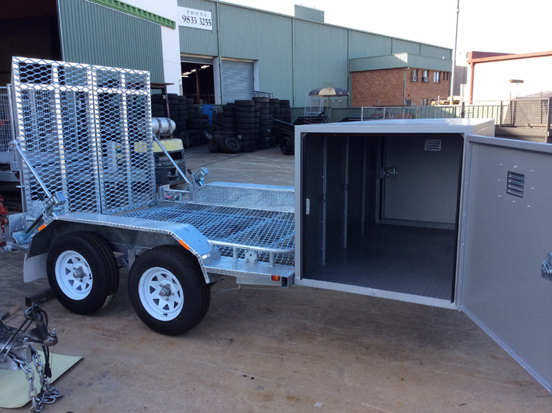 Get The Best Glavanised Trailer In Sydney