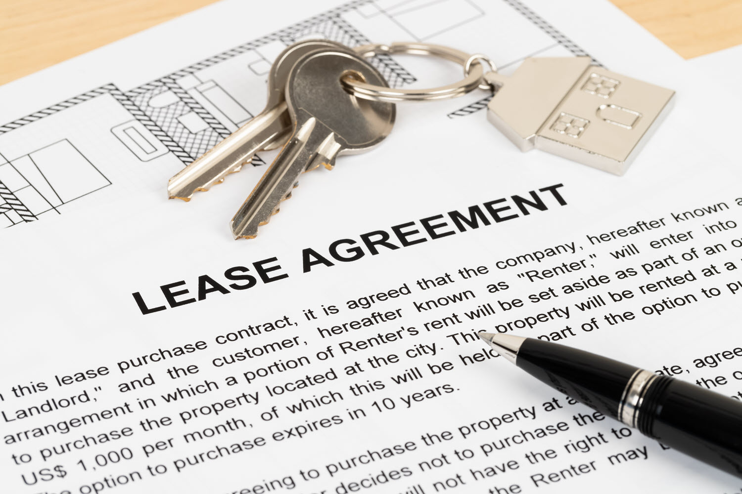end a lease and make good