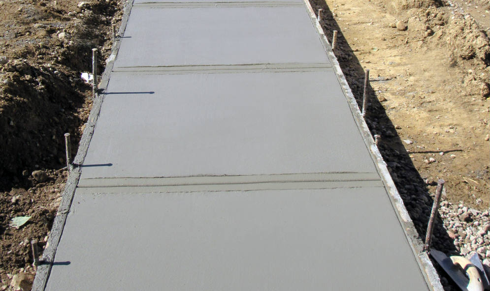 Concrete Footpath for usefull life