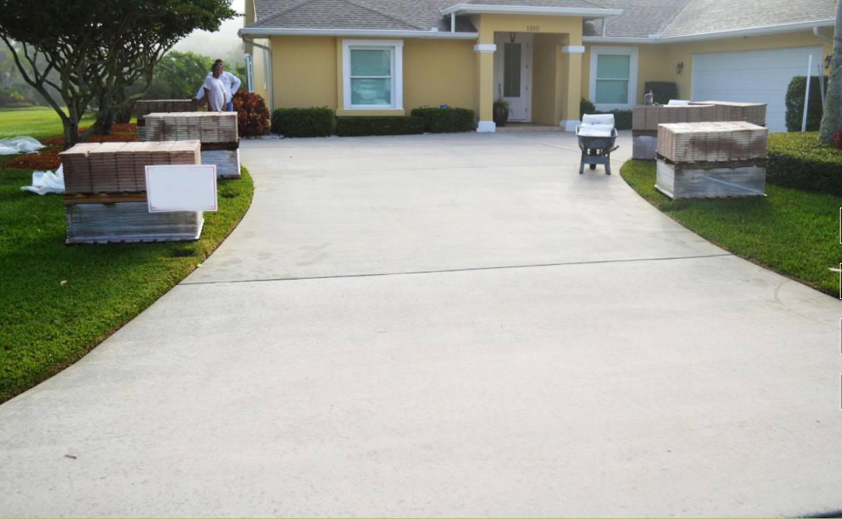concrete driveway resurfacing cost