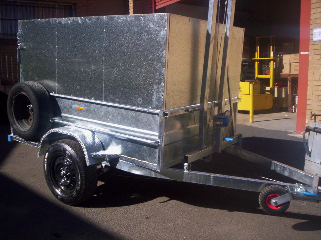 Get The Best Galvanised Box trailer In Sydney