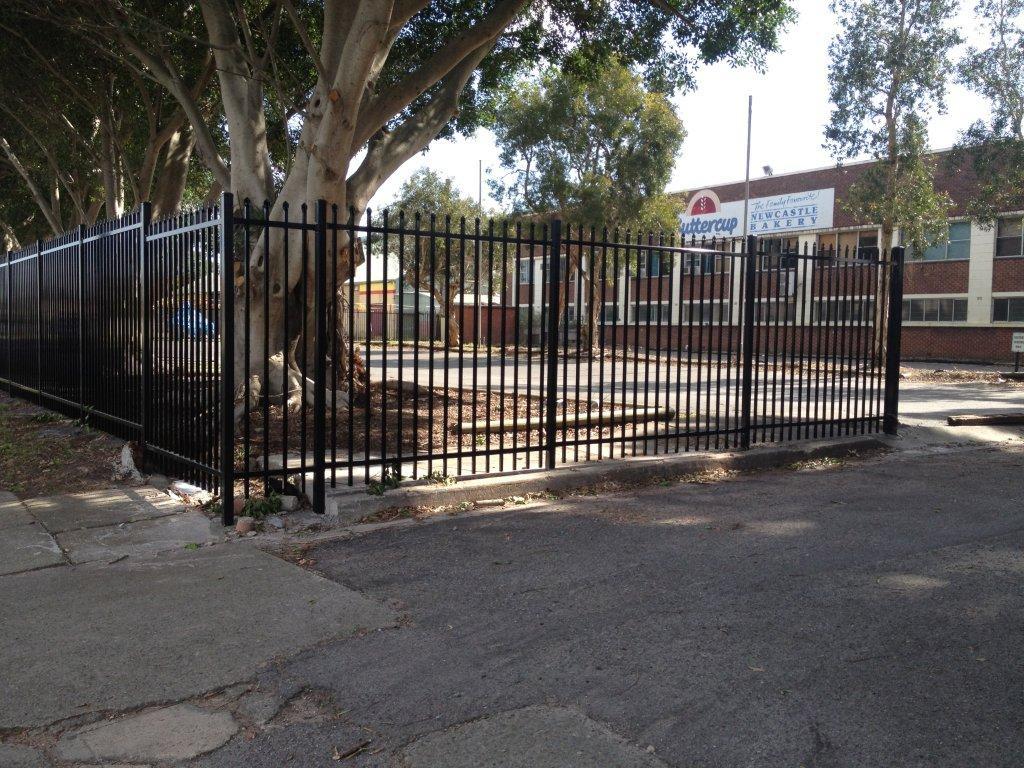 steel fencing Newcastle